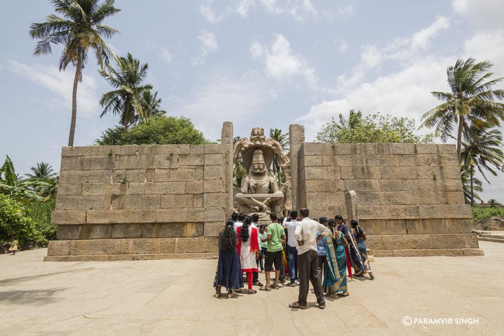 Lakshmi narasimha Temple at Hampi