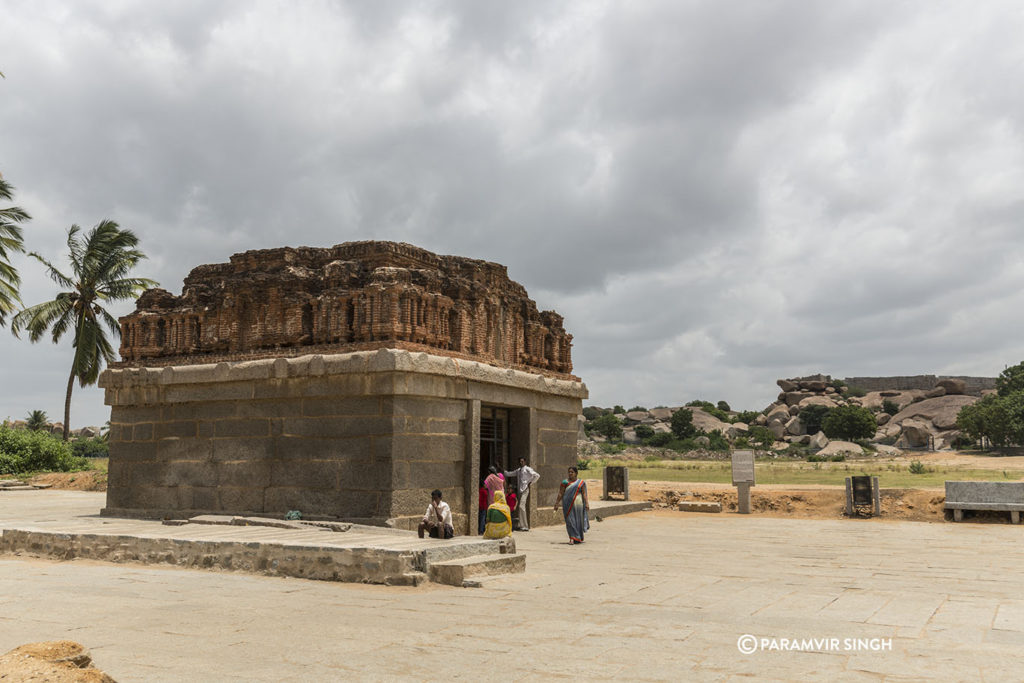 Old Temple at Hampi
