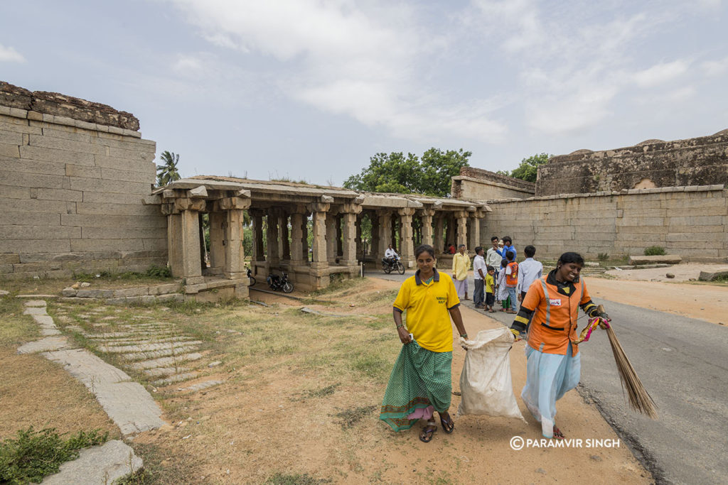 Keeping Hampi Clean