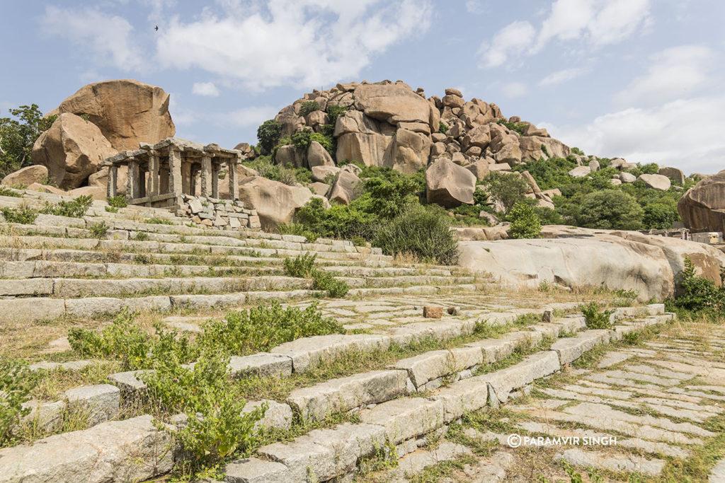 Steps Near Vitthala Temple, Hampi