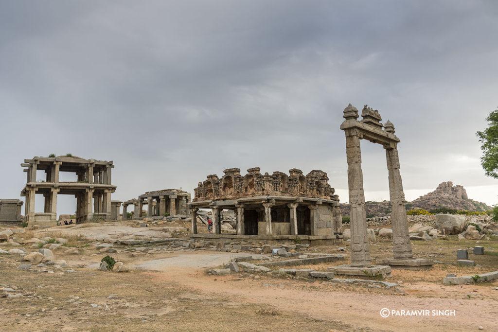 Temple Ruins, Hampi