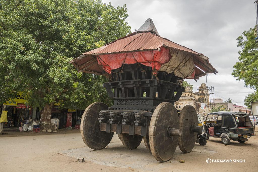 Chariot in Anegundi