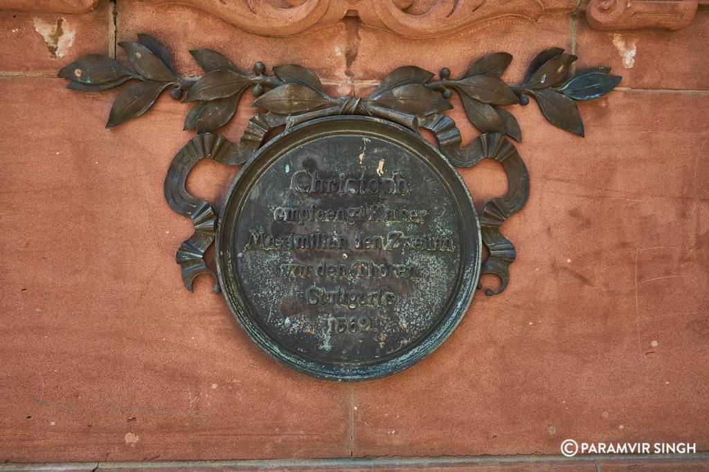 Epitaph Stuttgart 1562