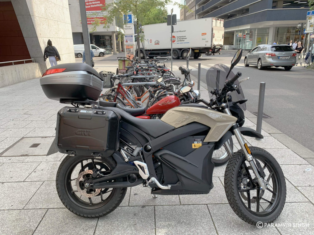 Electric Touring Motorcycle