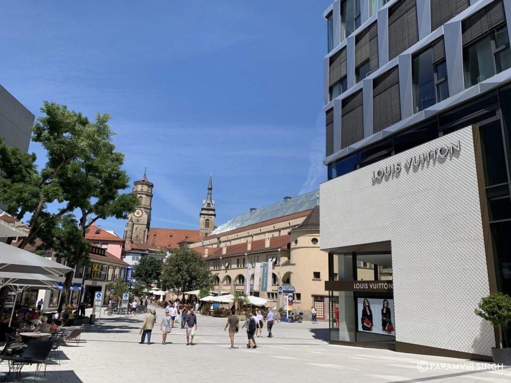Schillersplatz, Stuttsgart