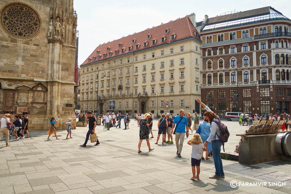 Stephansplaz, Vienna, Austria
