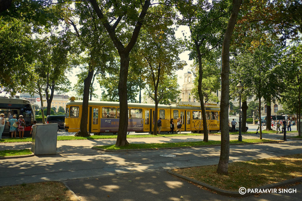 Trams in Vienna