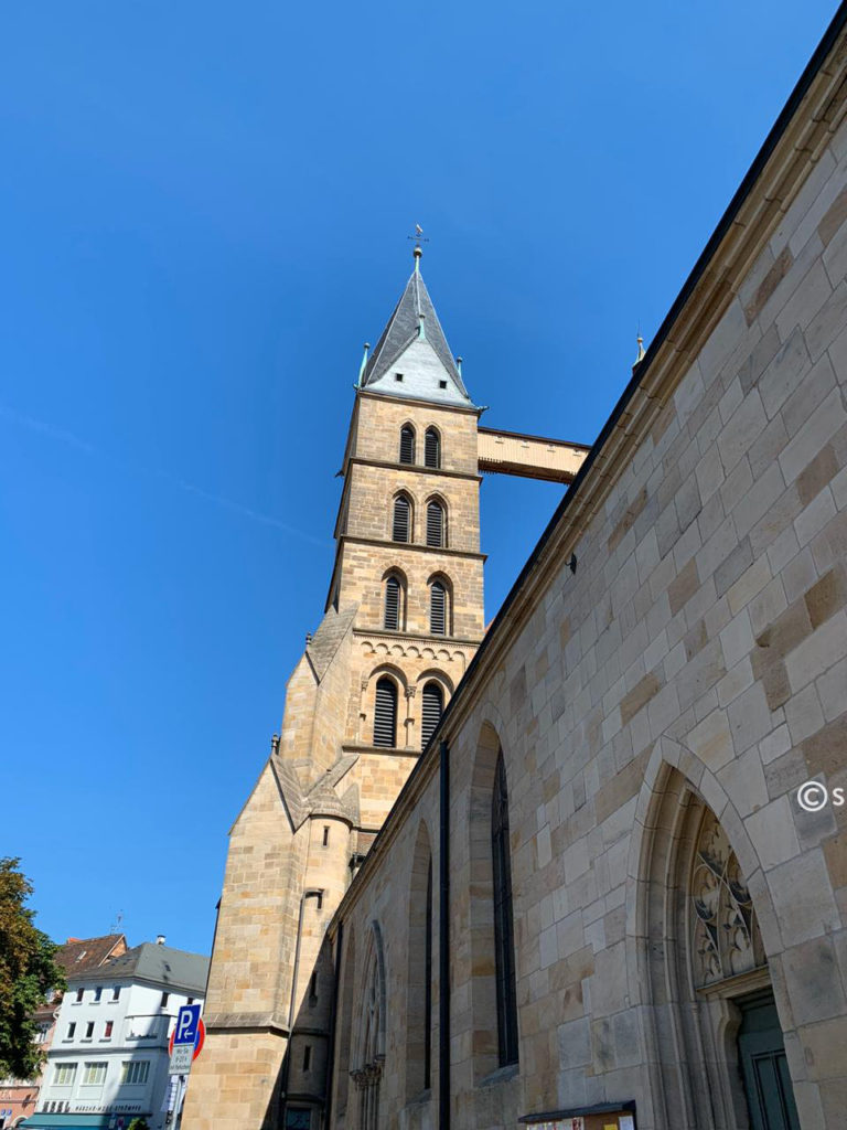 The Church of Saint Dionysius in Esslingen am Neckar, Germany.