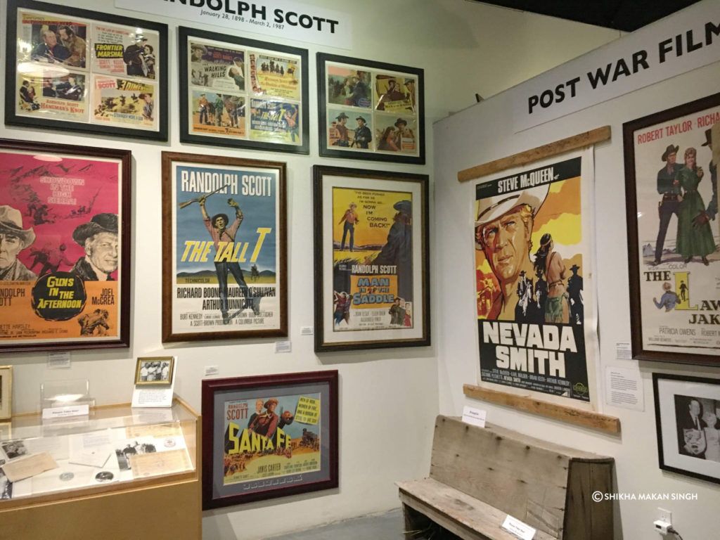 Movie Posters at Film History Museum, Lone Pine, California.