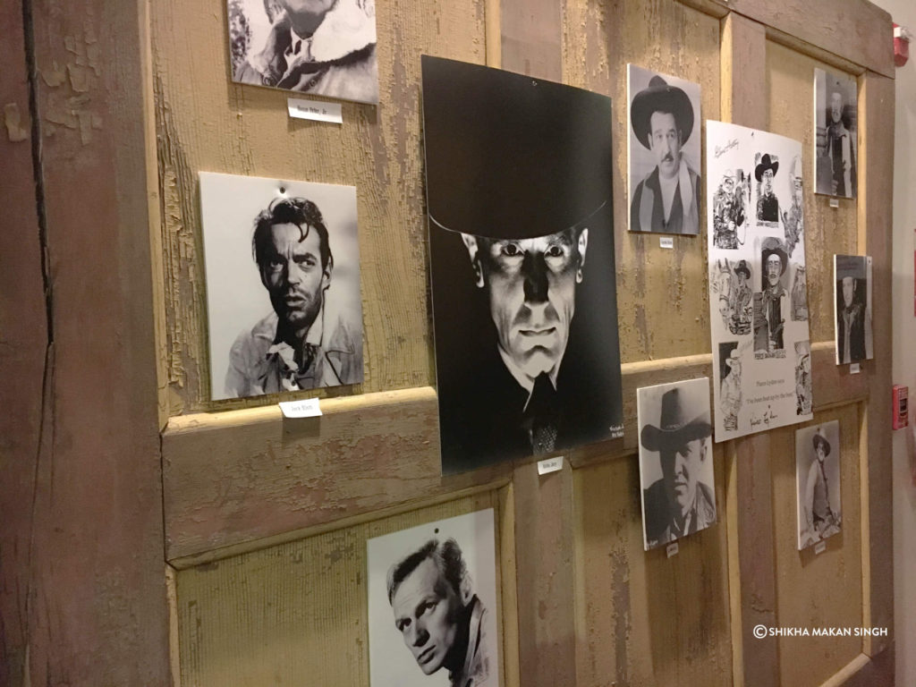 Actor Portraits at Film History Museum, Lone Pine, California.