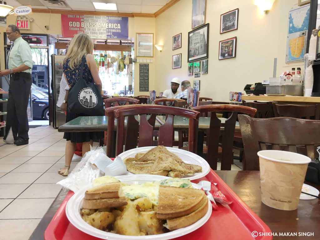 Breakfast at Lane Cafe