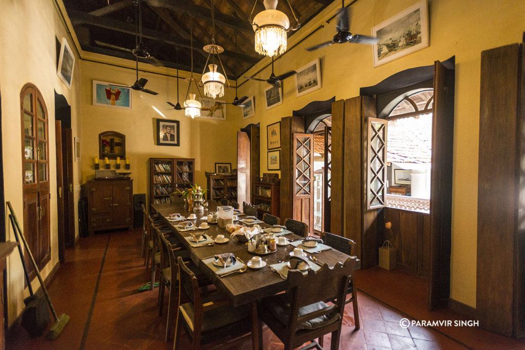 Goa House Breakfast Table