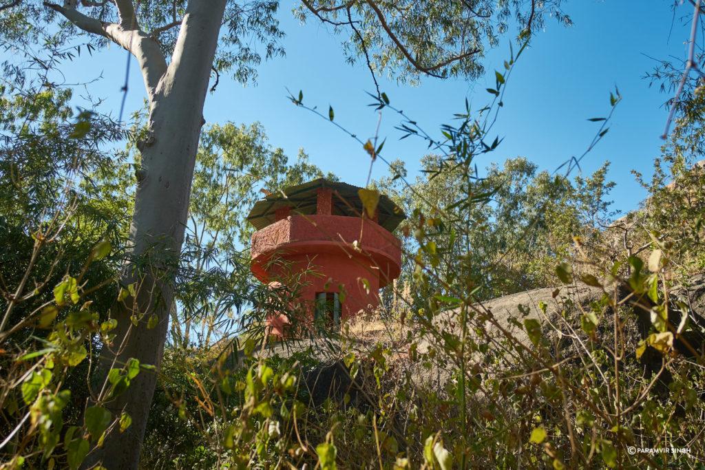 Watchtower at Trevor's Tank, Mount Abu