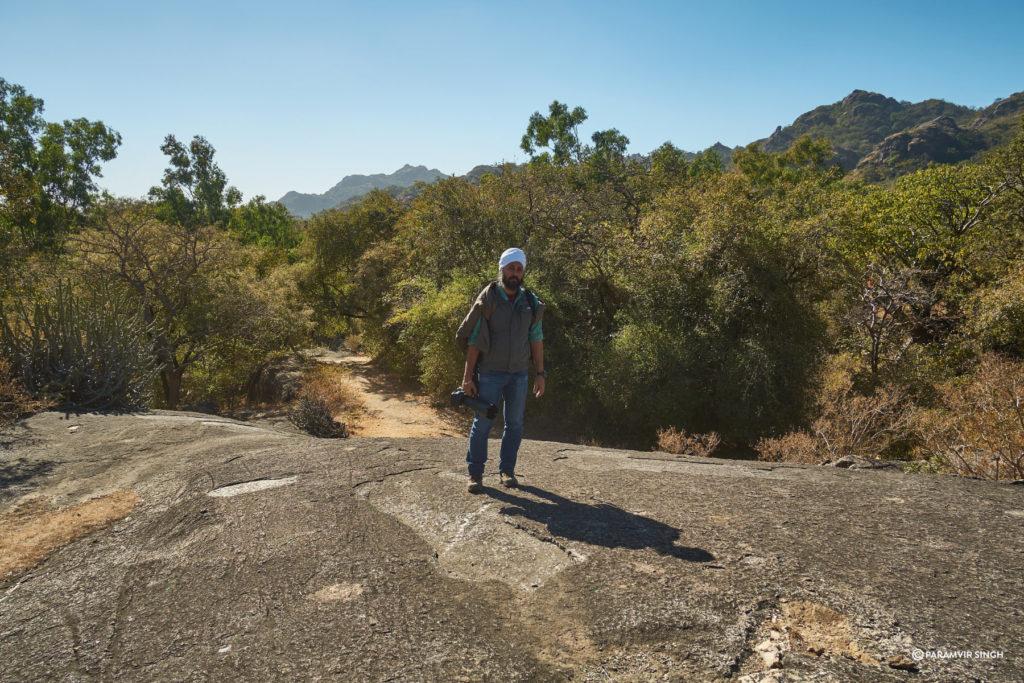 Trekking in the Mount Abu Wildlife Sanctuary