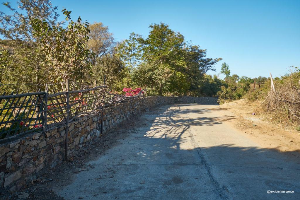 Village Road, Mount Abu