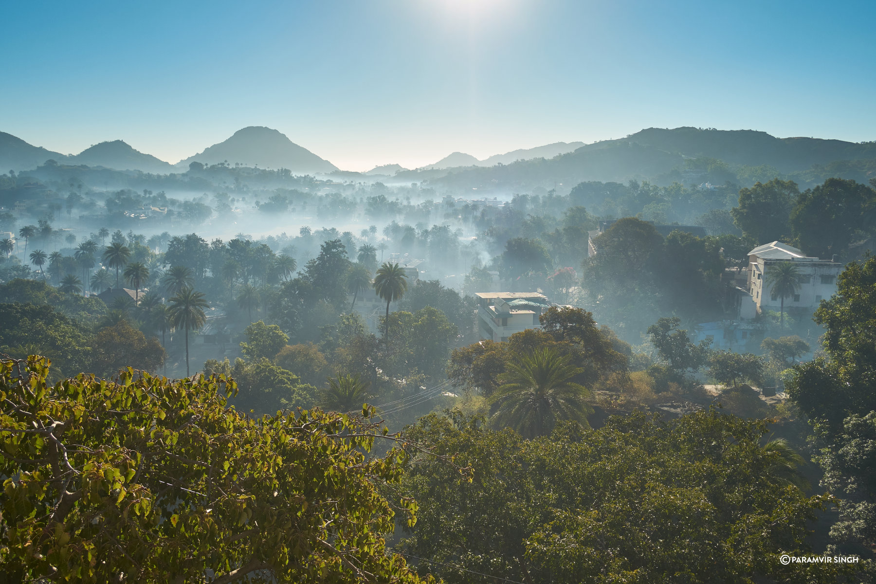 Mist over Mount Abu