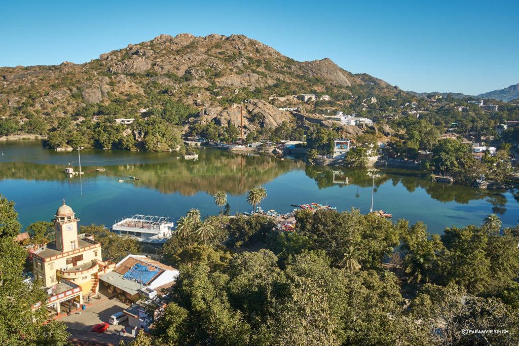 Lake at Mount Abu