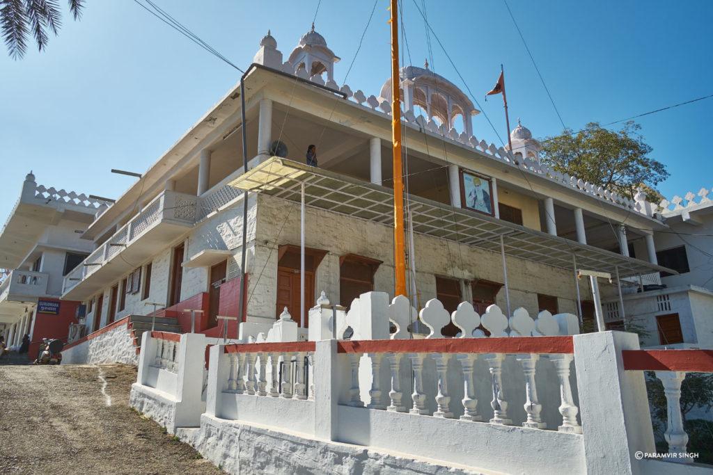 Gurudwara in Mount Abu