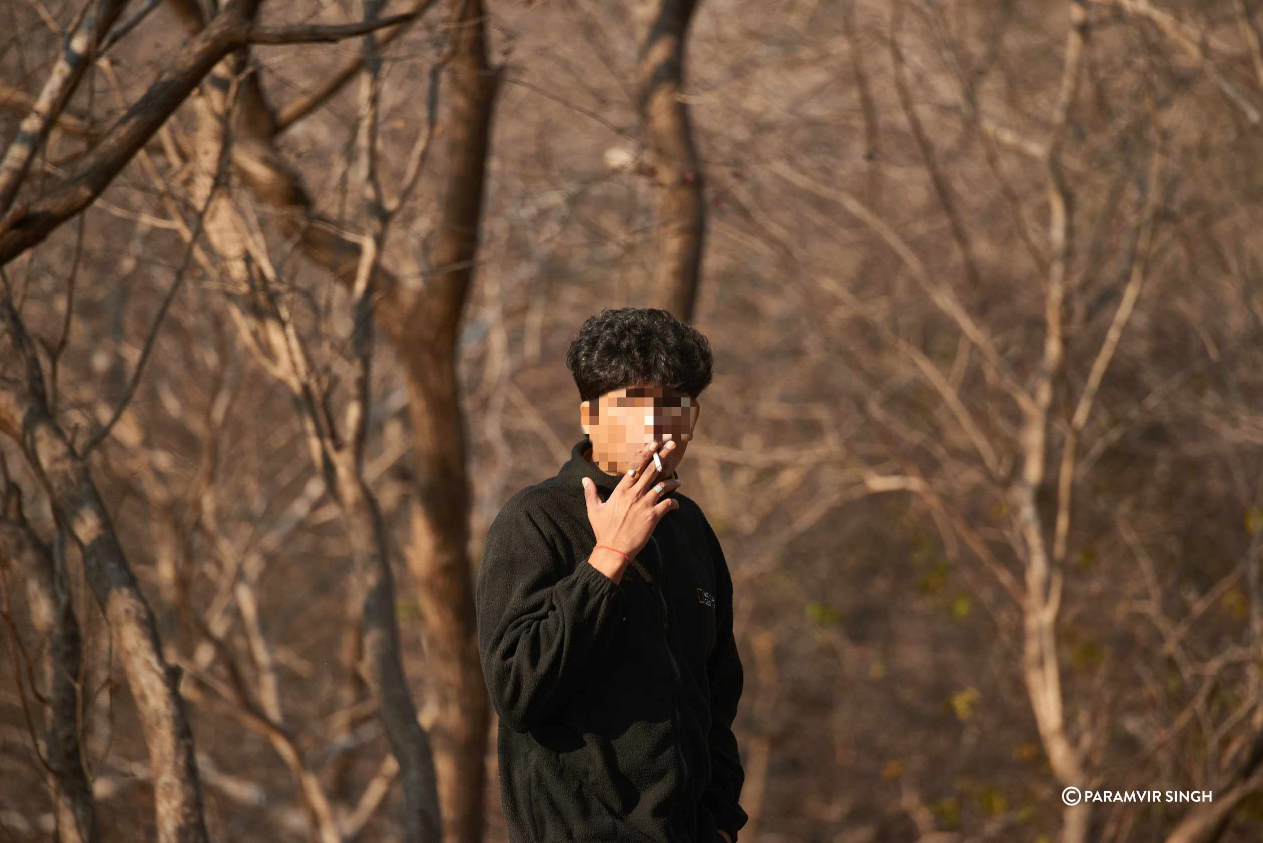 Man Smoking