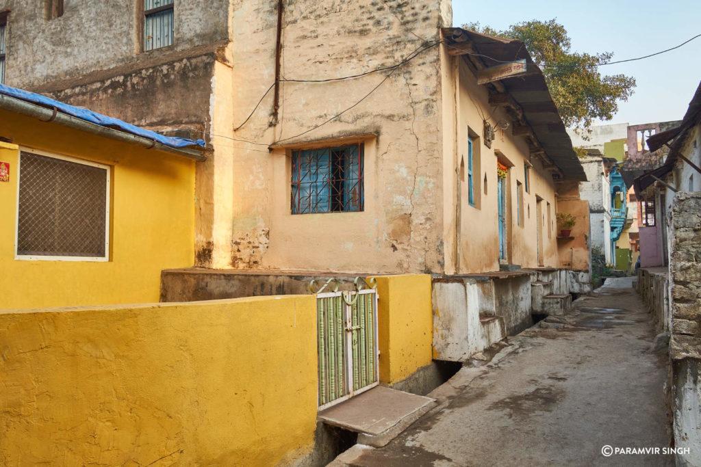 Lanes of Maheshwar Town Morning