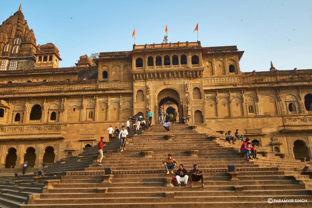 Maheshwar Ghat in the Morning