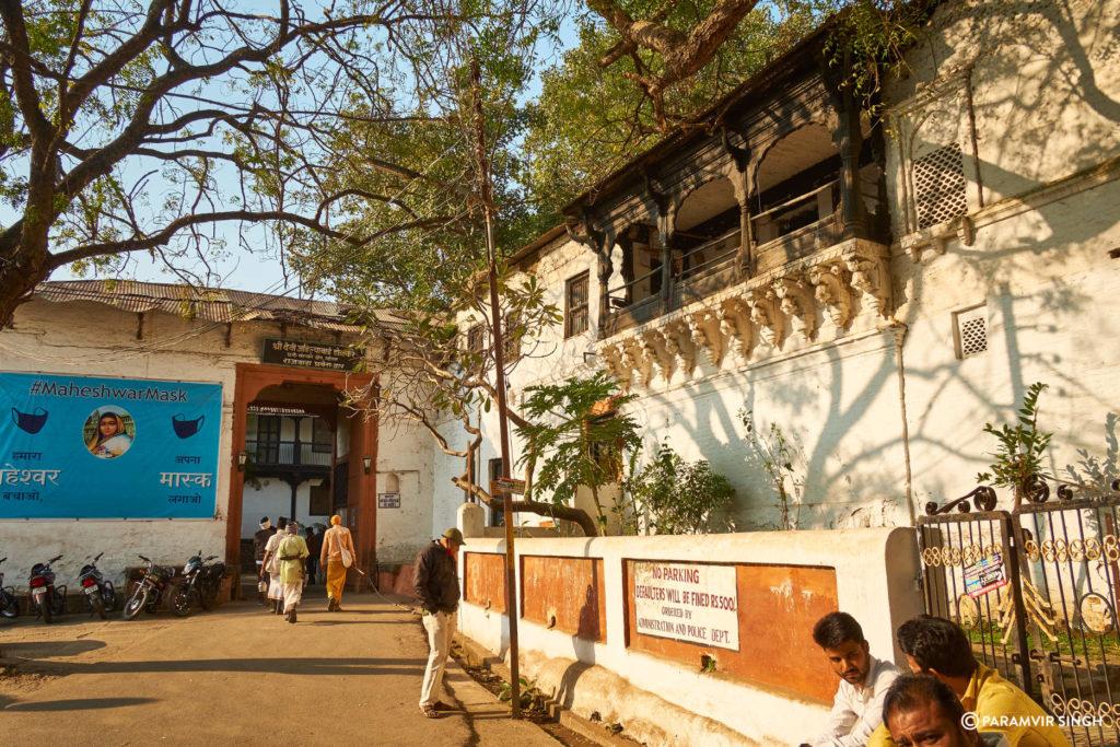 Inside Maheshwar Fort